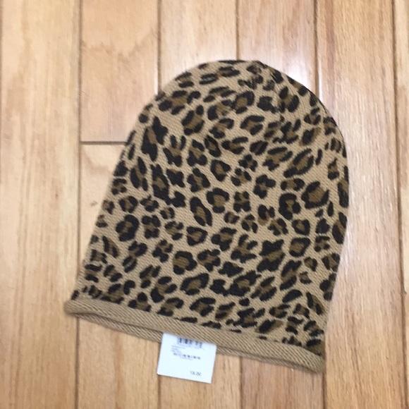 403dd6fc2e47 bp Accessories | Nwt Leopard Print Slouchy Beanie | Poshmark